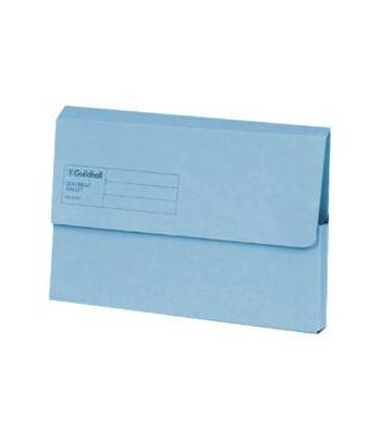 Guildhall Wallet Doc Blue