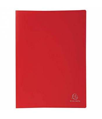 Exa Display Book 40Pk/80V Red