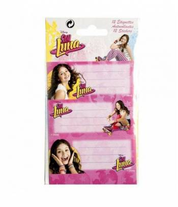Soy Luna - 12 stickers labels