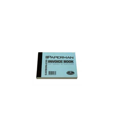 Duplicate Books Invoice Small Carbonless