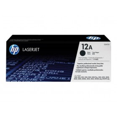 HP 12A - Black, original