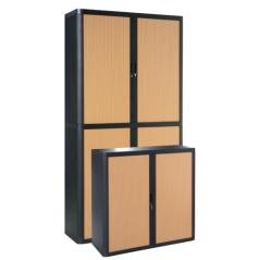 Cupboard - Wood and black