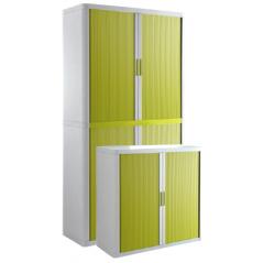 Cupboard - white, green