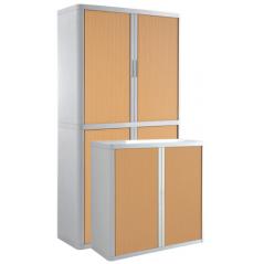 Cupboard - Wood and grey