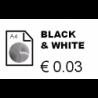 Black & White printing - 500 to 1000 copies