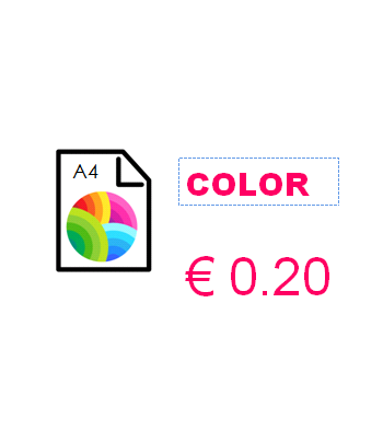 Color printing - 1 to 50...