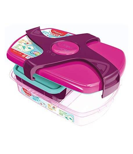 Maped Lunch Box Big Pink