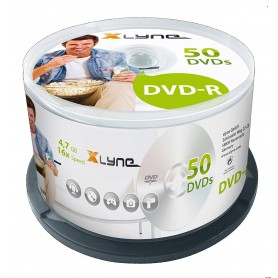 DVD-R X16 Speed - Pack of 50