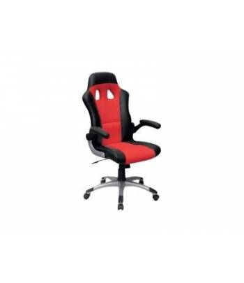 MTGA Swivel Racing Chair Red