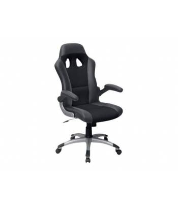 MTGA Swivel Racing Chair Black