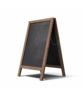BLACK BOARD WITH STAND 90X60 CM