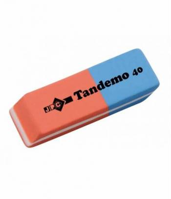 Jpc Eraser Tandemo (Red Blue)