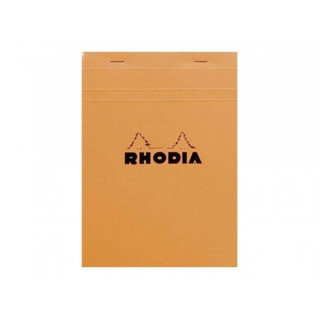 RHODIA Basics - Notepad, A5 ORANGE LINED